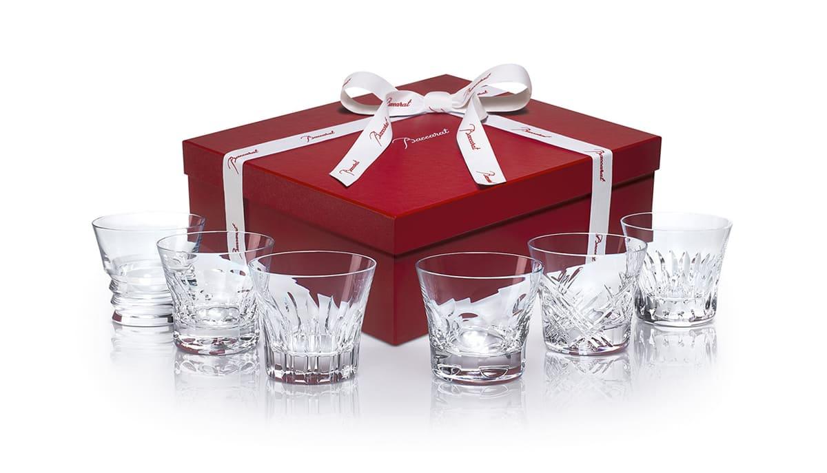 cofanetto every day baccarat bicchieri-cristallo