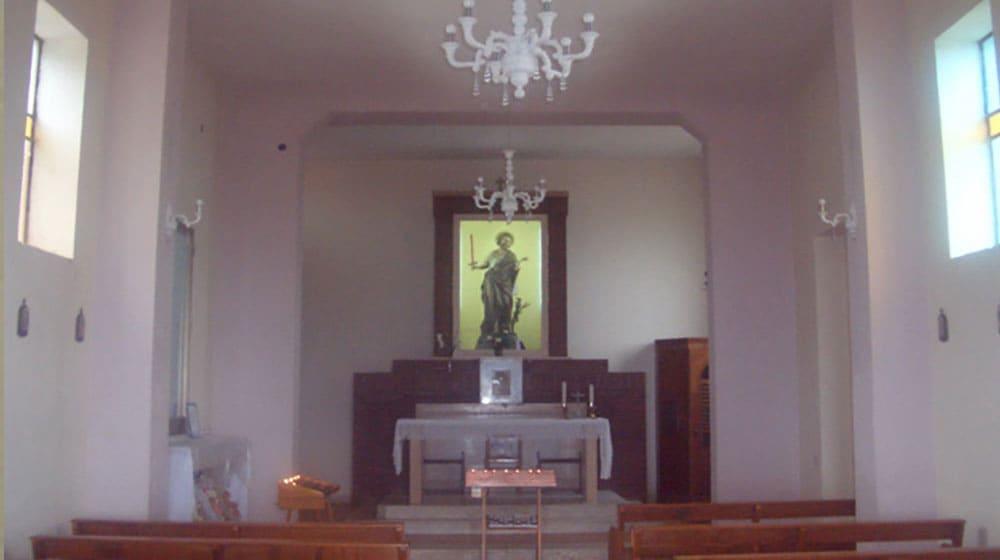 altare della chiesetta di sant'elia a palmi