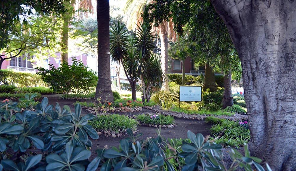 giardino in via marina a reggio calabria adottato da scopelliti 1887