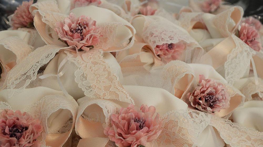 bomboniere sacchettini rosa eleganti reggio calabria