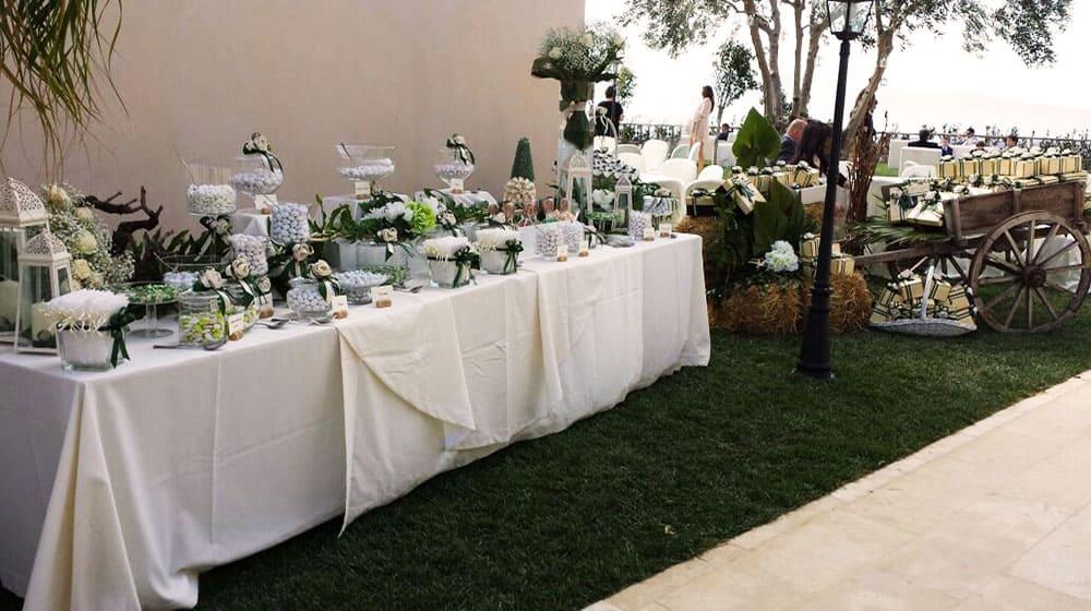 Bomboniere di nozze confettata