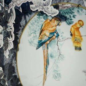 Hermes luxury dinnerware