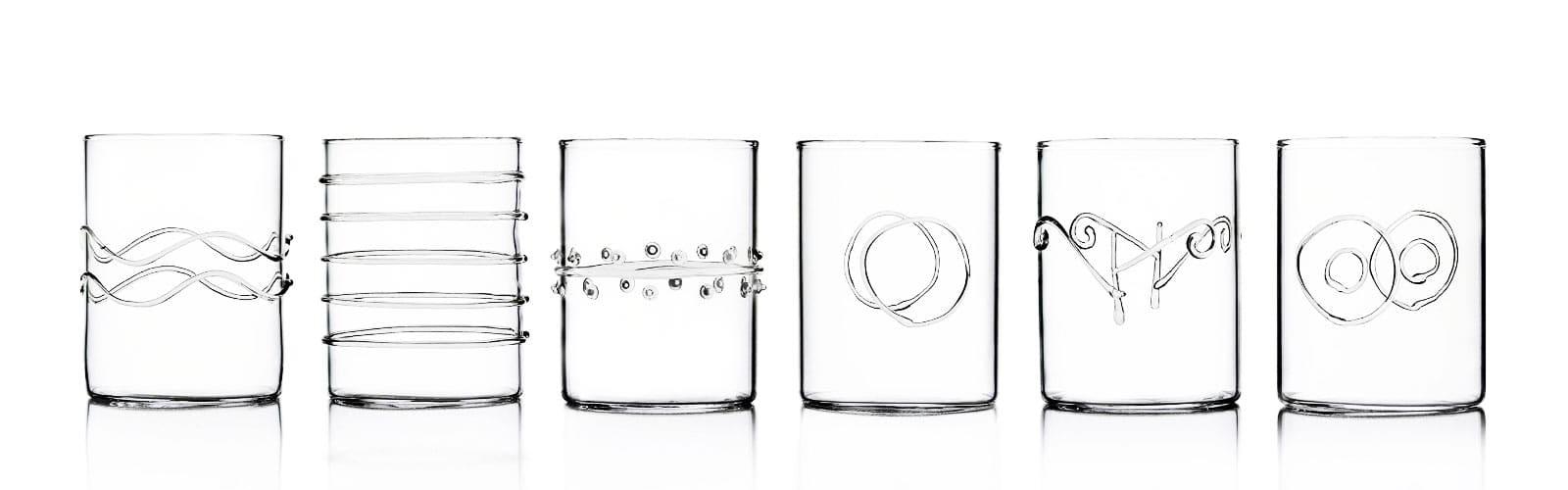 Ichendorf cristallo sercizi bicchieri complementi d'arredo vasi trasparenti vasi colorati oliere in borosilicato