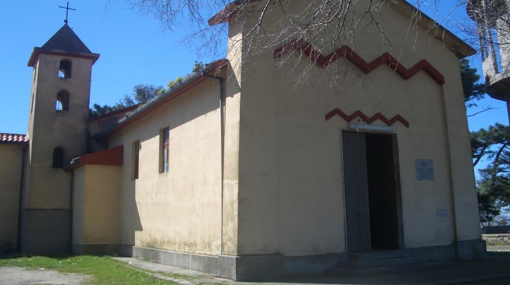 esterno della chiesa sul monte sant'elia
