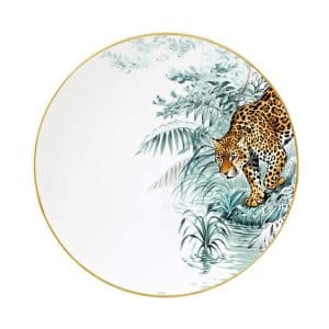 Dishes of french Hermes porcelain