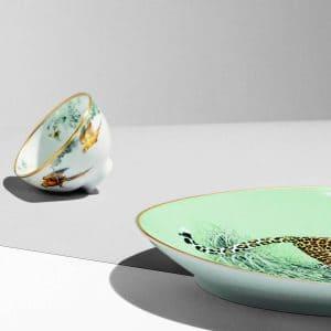 The contemporary dinnerware of Hermes