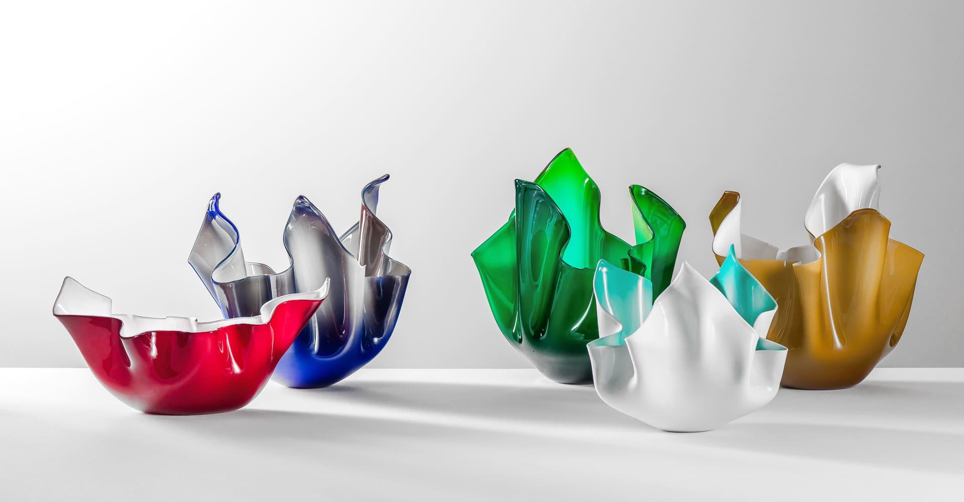 I vasi di Venini in vetro di Murano