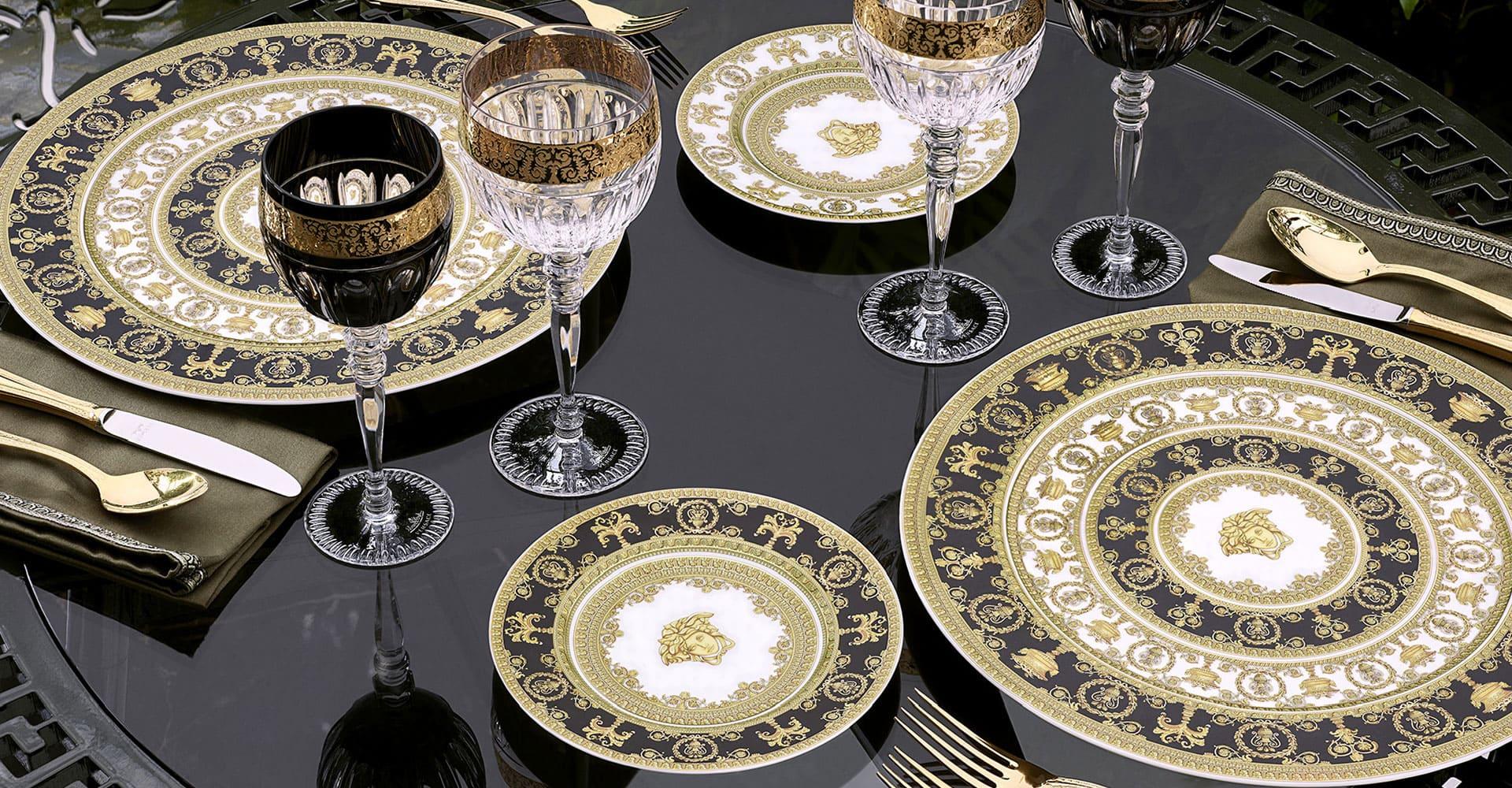 Piatti in porcellana Versace