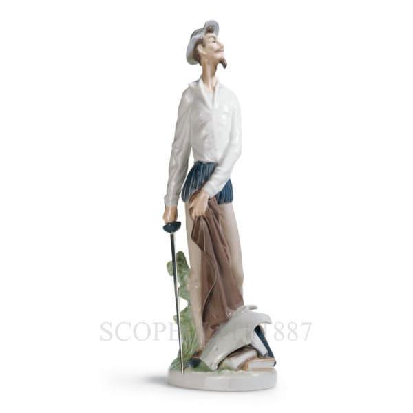 lladro statuina don quixote