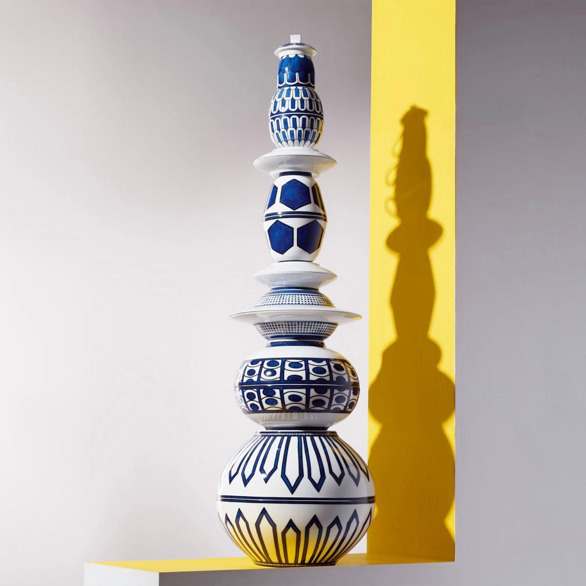 The luxury tableware of Hermes
