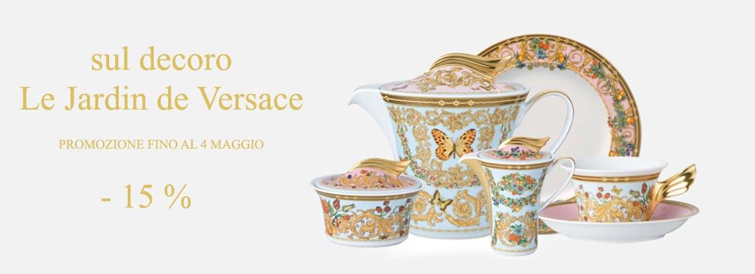 giardino di versace piatti, centrotavola e vasi in porcellana, un regalo importante