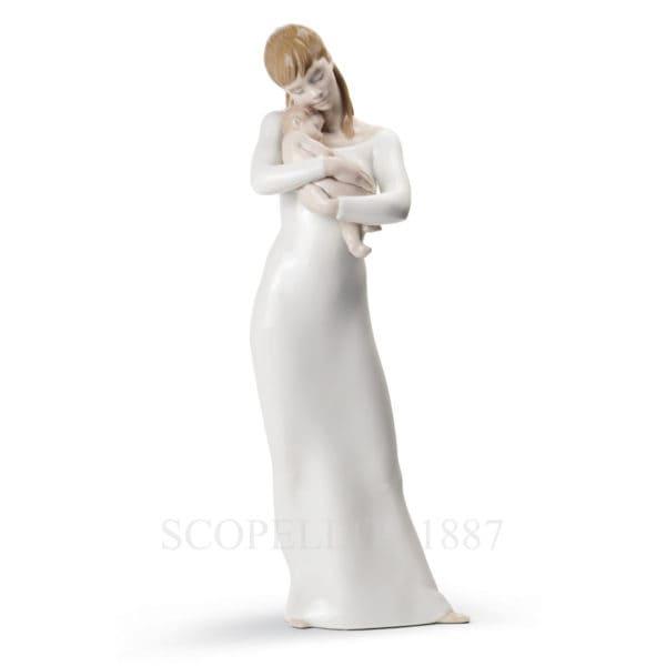 lladro statuina porcellana dipinta a mano