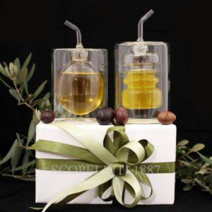 oliere bomboniere matrimonio utili con confezione