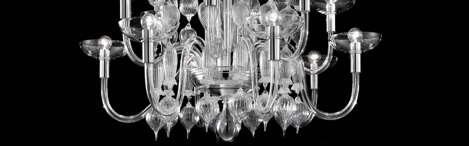 Venini lampadari design Carlo Scarpa vetro di Murano Reggio Caalbria regali liste nozze