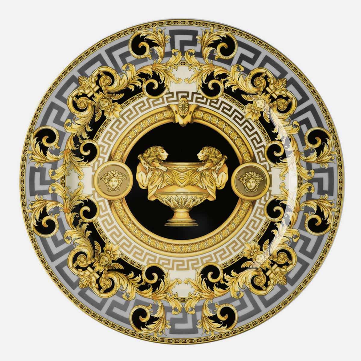 Piatti in porcellana di Versace