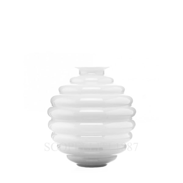vaso venini bianco lattimo decò shop online
