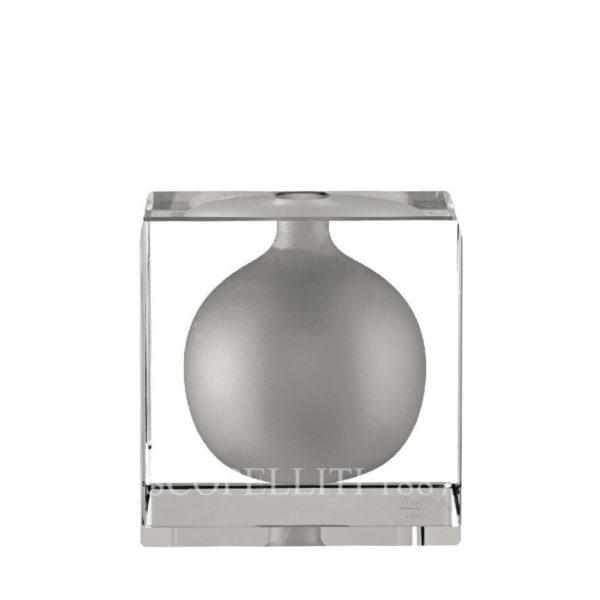 Portafiori di Rosenthal blockglass in cristallo