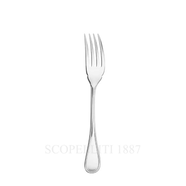 Albi Silver Plated Fish Fork with its asymmetric lines and curved contours  will gracefully remove the fish bones.