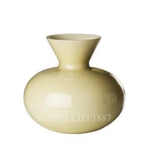 Venini Idria Pale Straw Vase Short shop online