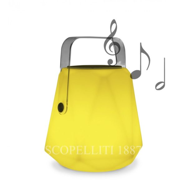 shop online lampada led ricaricabile portatile musicale gestita con bluetooth