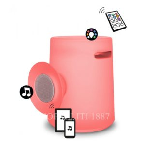 sgabello luminoso musicale telecomando musica dal cellulare bluetooth shop online