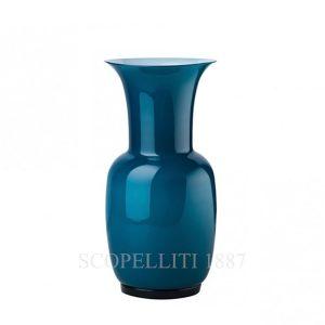vaso di venini di murano opalino