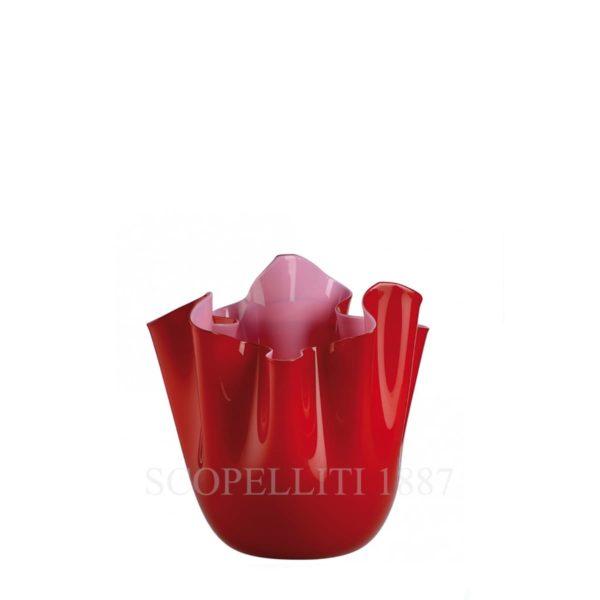 vaso fazzoletto di venini murano