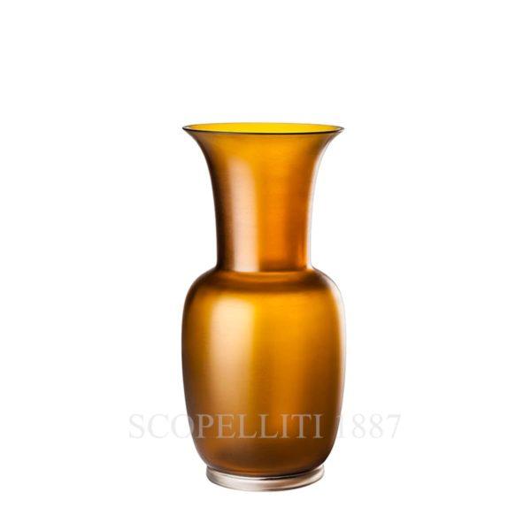 Vaso di vetro di Murano di Venini