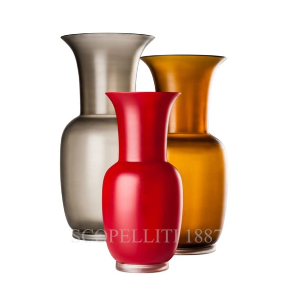 the vases of Venini glass