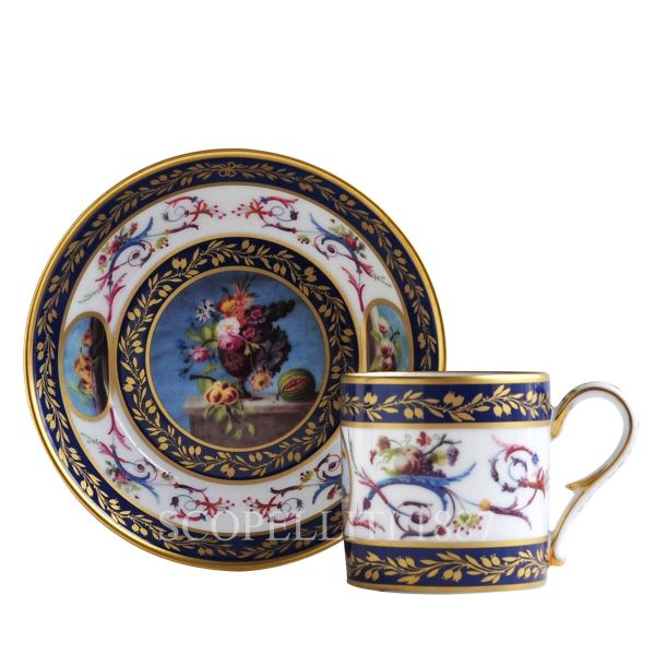 tazza da collezione in porcellana di limoges