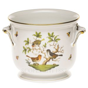 herend birds cachepot porcelain