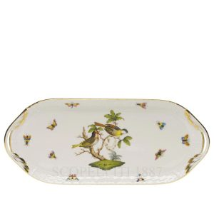 herend birds tray sandwich dish