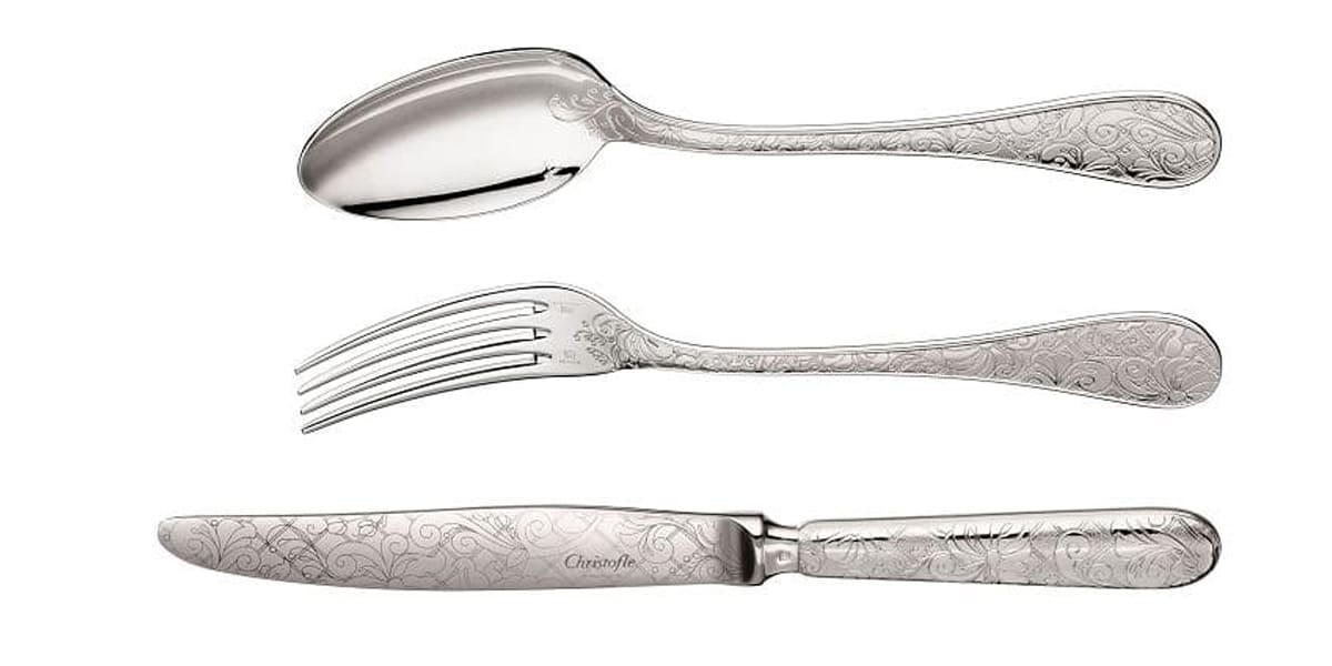 christofle flatware jardin d eden