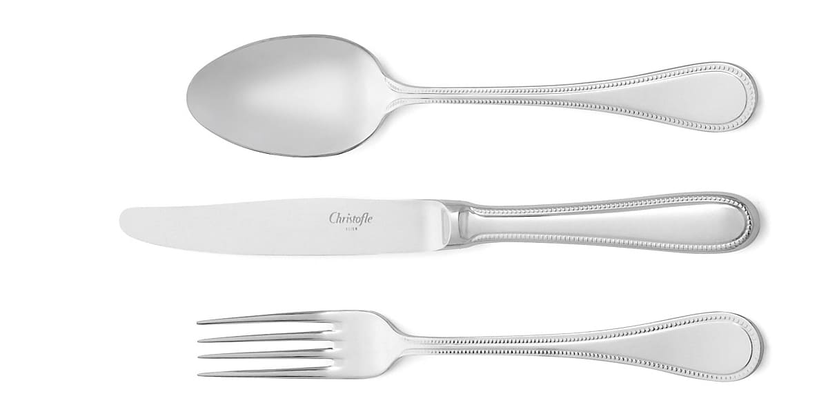 christofle flatware perles mimosa