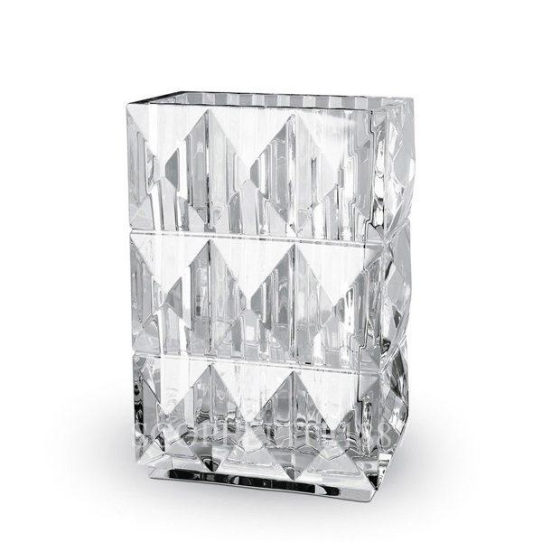 Vaso louxor in cristallo di Baccarat