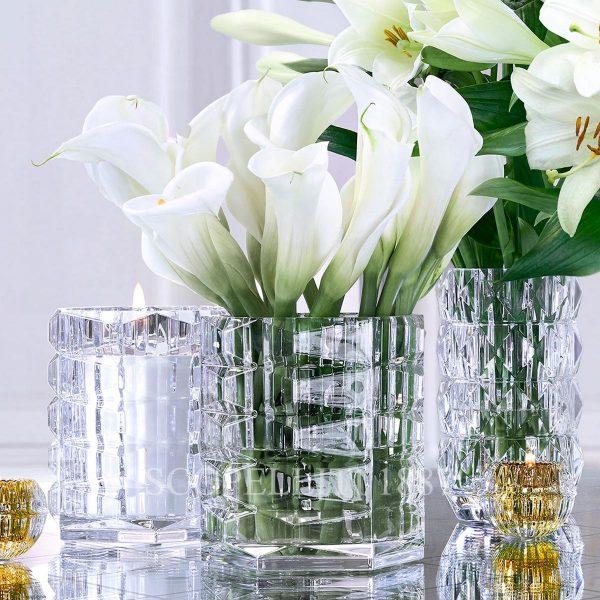 vasi in cristallo di baccarat