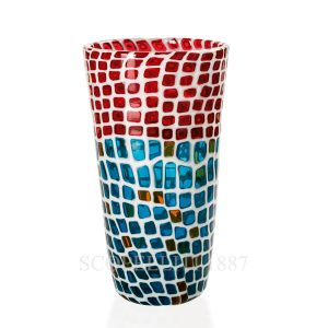venini murrine glass vase limited edition