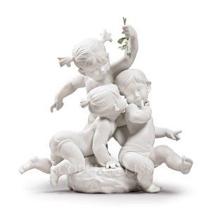 novità lladrò statua bimbi
