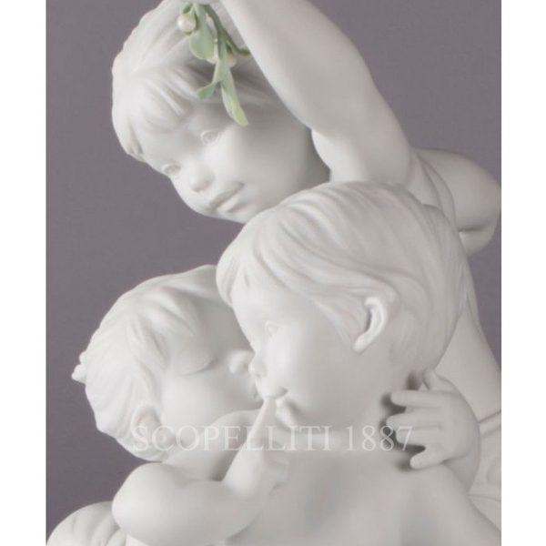 novità lladrò statua tre bimbi