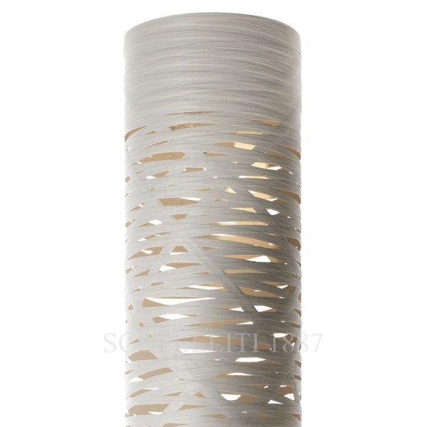 lampada da terra tress foscarini griggio beige
