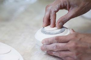 lavorazione porcellana