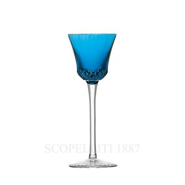 saint louis roemer colorato in cristallo azzurro