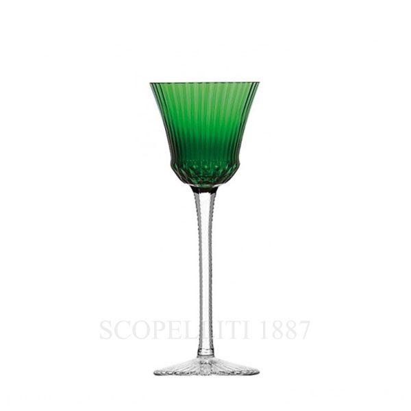 saint louis roemer colorato in cristallo verde