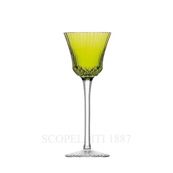 saint louis roemer colorato in cristallo verde chiaro