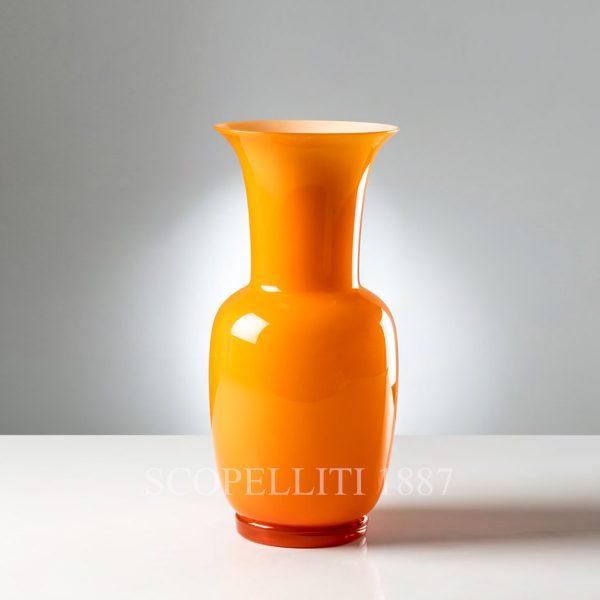 vaso venini opalino colore 2019 arancio