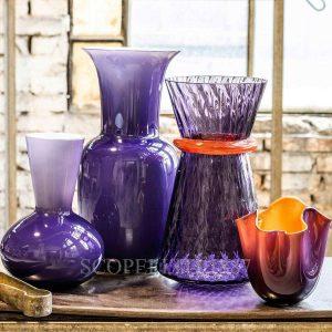 vasi venini nuovo colore indaco