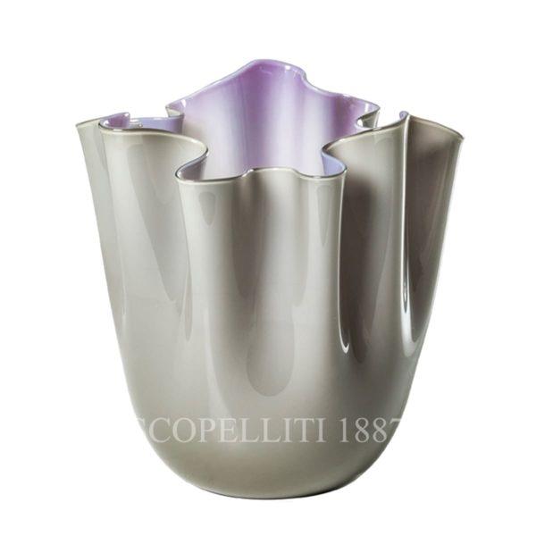 vaso venini fazzoletto talpa indaco