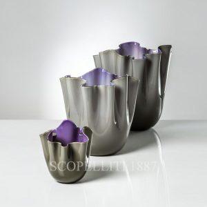 vasi venini fazzoletto opalino colori nuovi indaco talpa