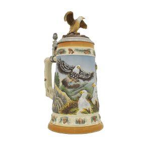 boccale da birra in ceramica originale tedesco