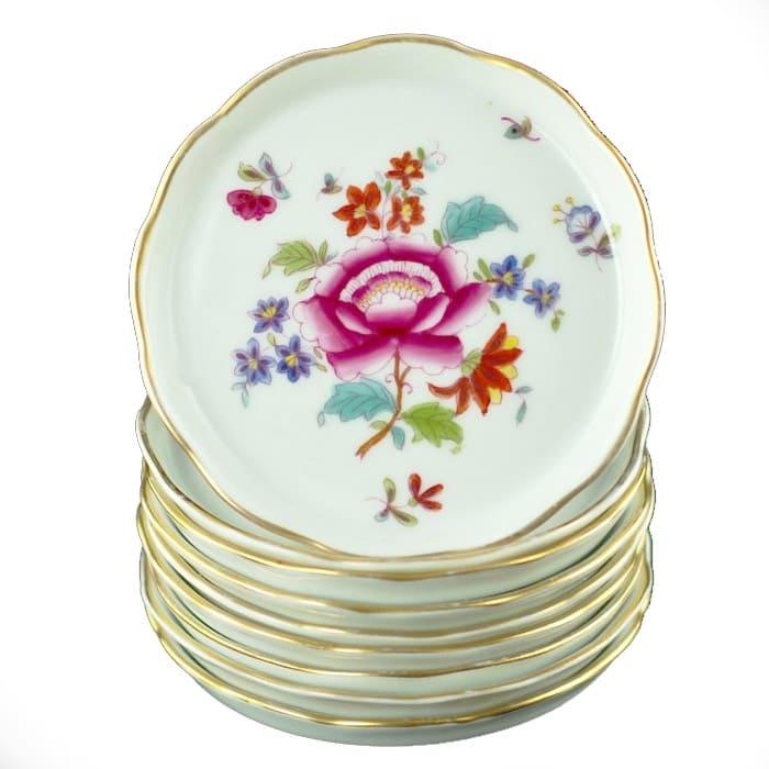 piattini in porcellana di Herend